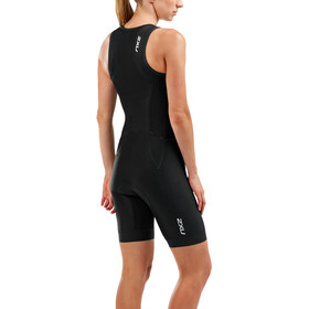 2XU Perform Front Zip Trisuit Women black/black